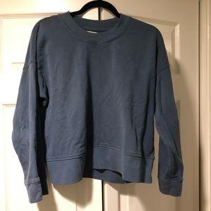 Madewell Cropped Sweatshirt